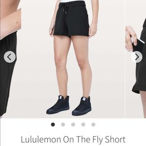 Lululemon in the fly shorts